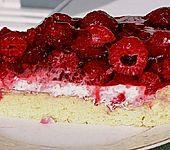 Himbeer - Joghurt - Torte (Bild)