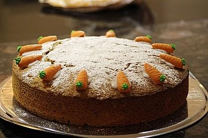 Karottenkuchen 1