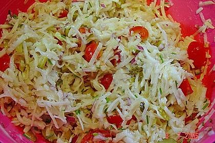 Kohlrabi-Salat 1
