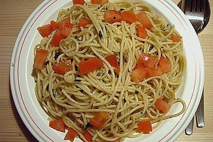 Spaghetti aglio olio 8