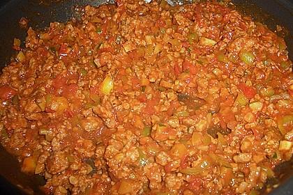 Cannelloni mit Gemüse - Hackfleisch - Füllung 11