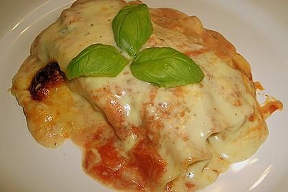 Cannelloni mit Gemüse - Hackfleisch - Füllung