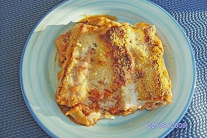 Cannelloni mit Gemüse - Hackfleisch - Füllung 5