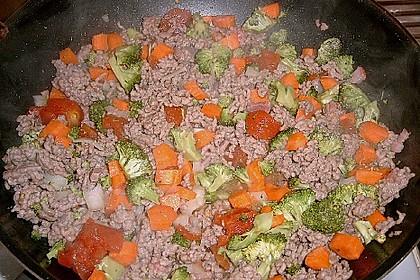 Cannelloni mit Gemüse - Hackfleisch - Füllung 12