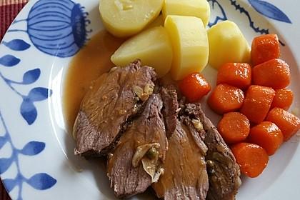 Eingepackte griechische Lammkeule 8