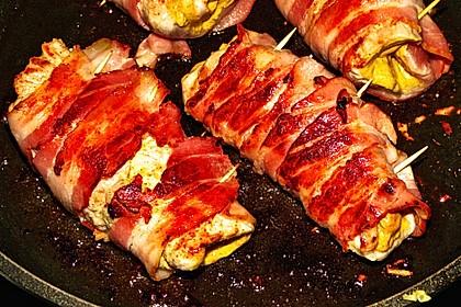 Fleischröllchen mit Pilzrahm 1