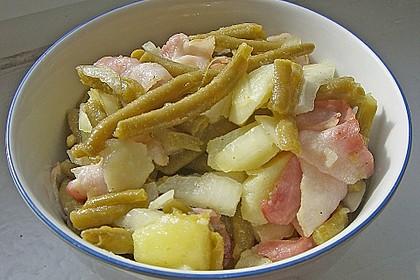 Omas Bohnensalat 6