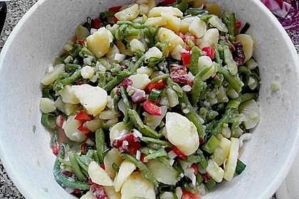 Omas Bohnensalat 3