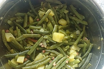 Omas Bohnensalat 8
