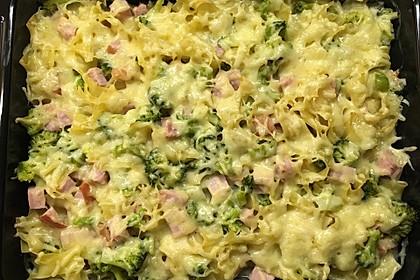 Broccoli-Kasseler-Auflauf 9