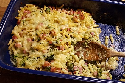 Broccoli-Kasseler-Auflauf 36