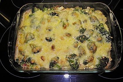 Broccoli-Kasseler-Auflauf 15