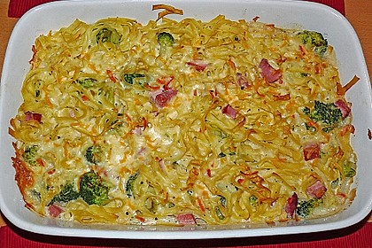 Broccoli-Kasseler-Auflauf 3