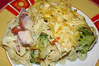 Broccoli-Kasseler-Auflauf 2
