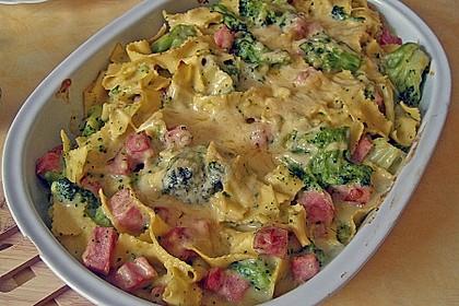 Broccoli-Kasseler-Auflauf 1