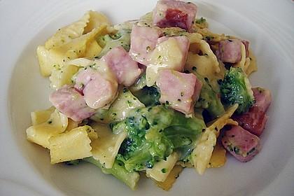 Broccoli-Kasseler-Auflauf