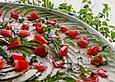 Zucchini-Carpaccio, eine Grill-Beilage