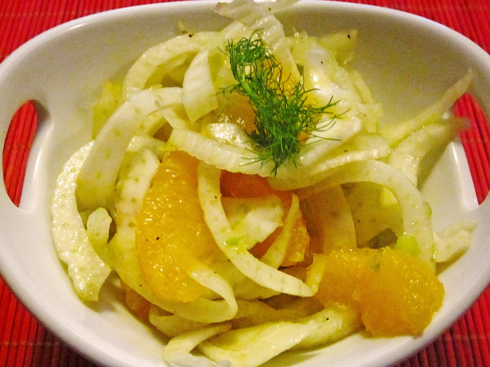 fenchel orangen salat rezept mit bild von gisela m. Black Bedroom Furniture Sets. Home Design Ideas