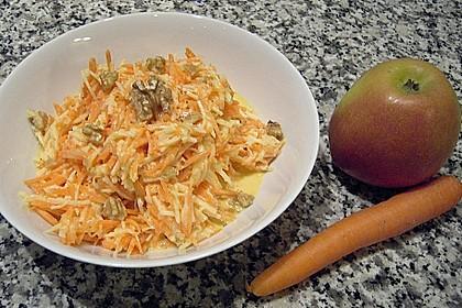 Möhren-Apfelsalat 5