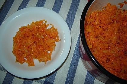 Möhren-Apfelsalat 1