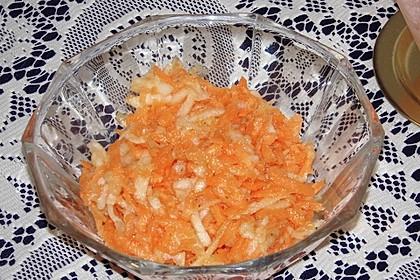Möhren-Apfelsalat 4