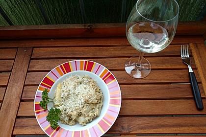 Risotto mit grünem Spargel und Parmesan 26