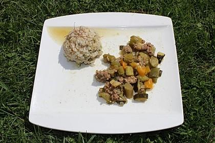 Risotto mit grünem Spargel und Parmesan 59
