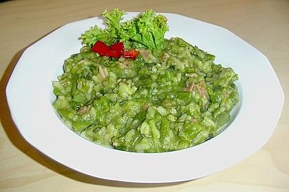 Risotto mit grünem Spargel und Parmesan 48