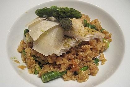 Risotto mit grünem Spargel und Parmesan 24