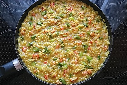 Risotto mit grünem Spargel und Parmesan 45