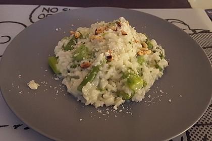 Risotto mit grünem Spargel und Parmesan 23