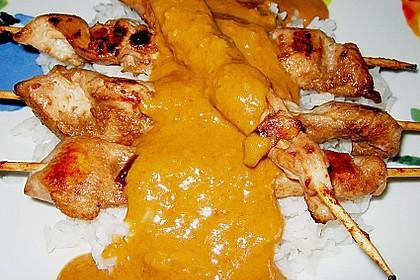 Hühnchenspieße Satay 2