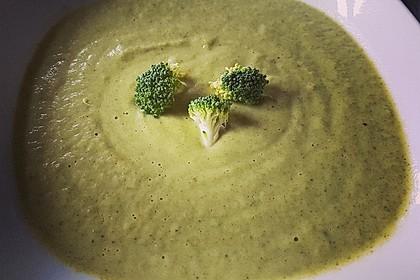 Brokkoli-Cremesuppe 1