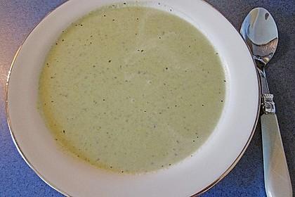 Brokkoli-Cremesuppe 9
