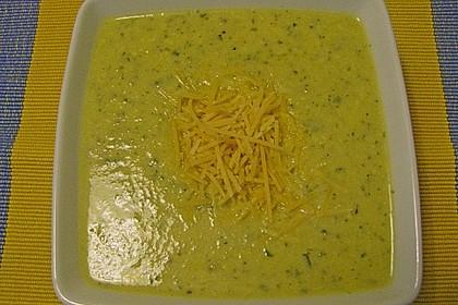 Brokkoli-Cremesuppe 7