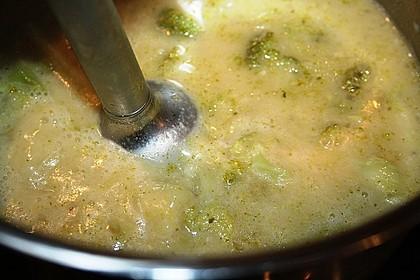 Brokkoli-Cremesuppe 19