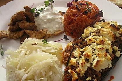 Gefüllte Auberginen auf türkische Art 4