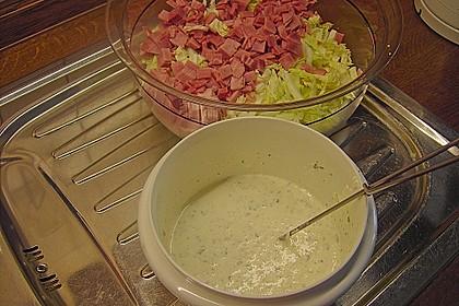 Chinakohlsalat mit Sahnesoße 12