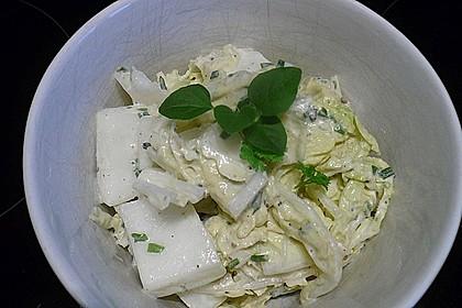 Chinakohlsalat mit Sahnesoße 6