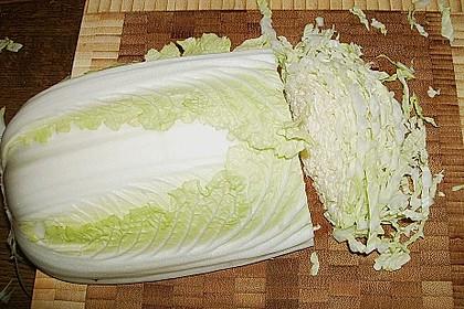 Chinakohlsalat mit Sahnesoße 17