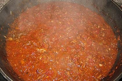 Pikante Thunfisch-Tomatensauce 4