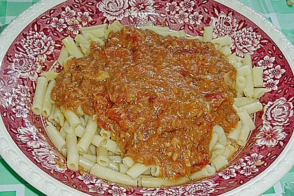 Pikante Thunfisch-Tomatensauce 5