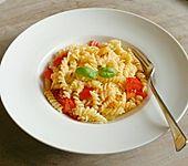 Spaghetti - Tomaten - Feta - Pfanne