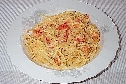 Spaghetti - Tomaten - Feta - Pfanne 12