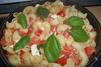 Spaghetti - Tomaten - Feta - Pfanne 3