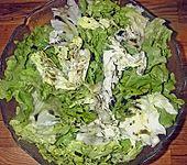 Salat mit Essig und Öl (Bild)