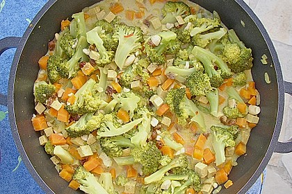 Curry - Gemüse mit Tofu 12