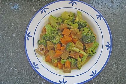 Curry - Gemüse mit Tofu 10