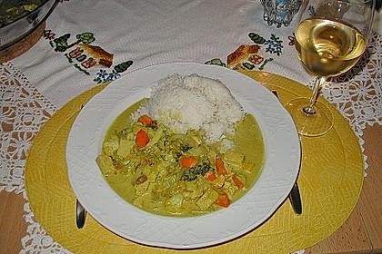 Curry - Gemüse mit Tofu 4