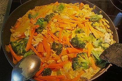 Curry - Gemüse mit Tofu 11